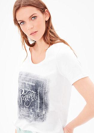 Jersey-Shirt mit Statement-Print