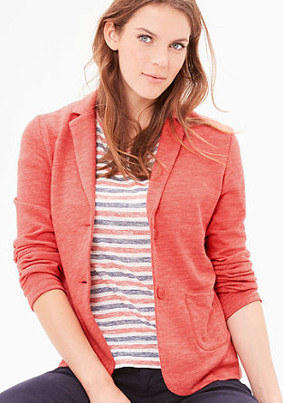 Lightweight sweatshirt blazer from s.Oliver