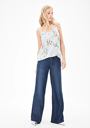 Smart Wide: Flowing denim from s.Oliver