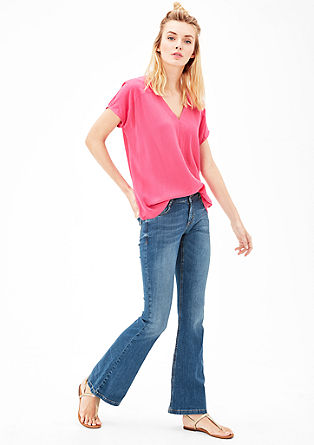 Shape Flare: stretch jeans from s.Oliver