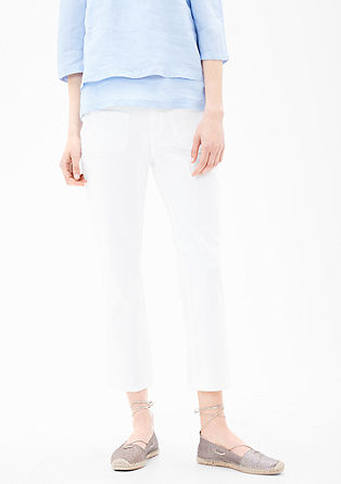 Cropped Straight: strečové džíny