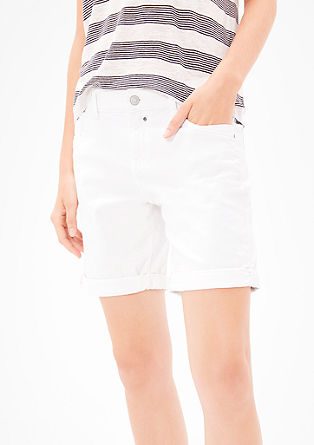 Smart Short: Stretch-Bermuda
