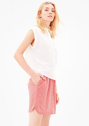 Sporty jersey skirt from s.Oliver