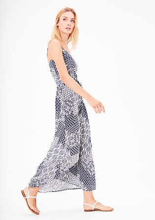 Maxi dress with a tribal pattern from s.Oliver