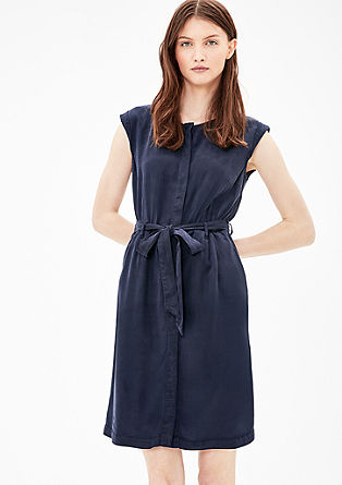 Shirt dress with belt from s.Oliver