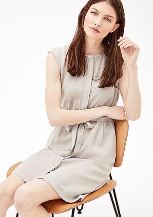 Hemdblusenkleid mit Gürtel