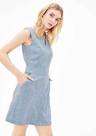 Linen-blend summer dress from s.Oliver
