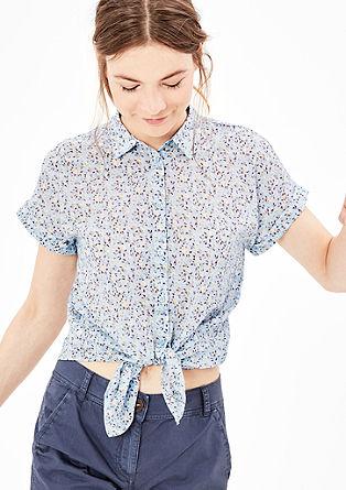 Bluza z učinkom prosojnosti