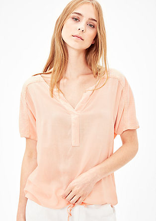 Garment-dyed shirt