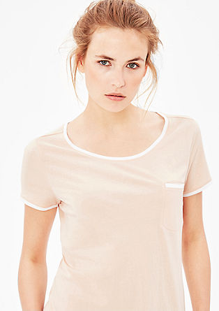 Sporty jersey T-shirt from s.Oliver