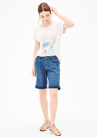 Smart Short: Bermuda aus Denim