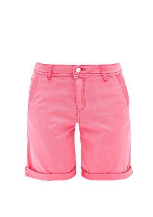 Smart Short : bermuda en twill de s.Oliver