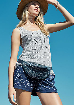 Bequeme Jersey-Hotpants