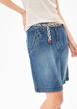 Summer denim skirt from s.Oliver