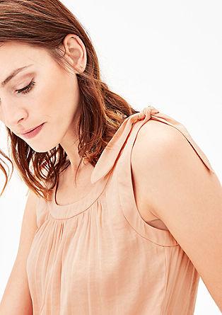 Sommerkleid mit Knoten-Details