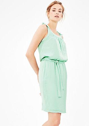 Poletna obleka z vozli