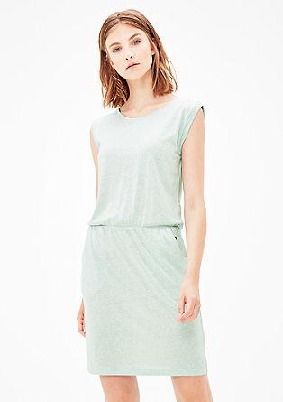 Jerseykleid mit Rückenausschnitt