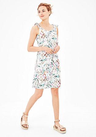 Blusenkleid mit Knoten-Details