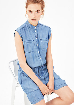 Jumpsuit aus Sommer-Denim