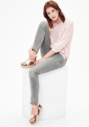Shape Slim: pale stretch jeans from s.Oliver