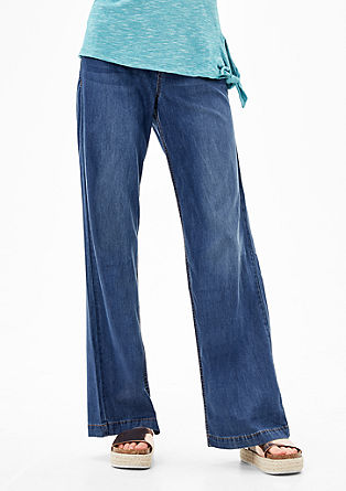 Smart Wide: summery jeans from s.Oliver