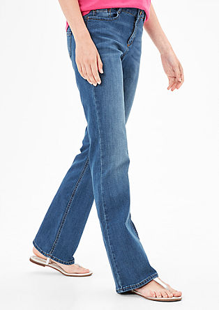 Smart Bootcut: Stretchjeans