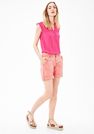 Shape Shorts: Twill Bermudas from s.Oliver