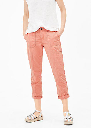 Smart Straight: trousers with pockets from s.Oliver