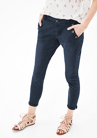 Shape Skinny: jeans with buttons from s.Oliver