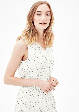 Jersey-Kleid mit Musterprint