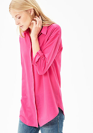 Boyfriend blouse in a silk blend from s.Oliver