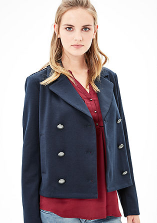 Nautical-style blazer from s.Oliver