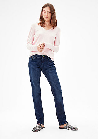 Smart Straight: classic blue jeans from s.Oliver