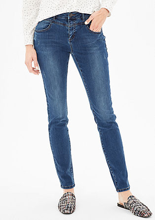 High Rise Skinny: Coloured Denim