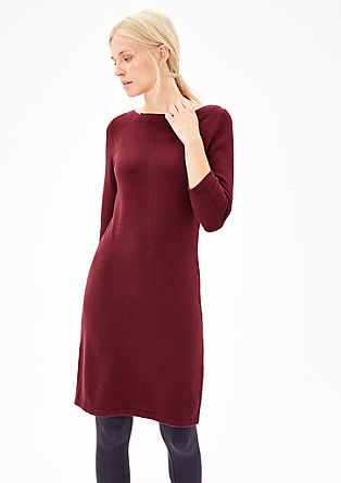 Casual fine knit dress from s.Oliver