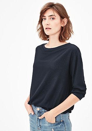 Blusenshirt aus Crêpe