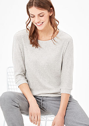 Striped batwing top from s.Oliver