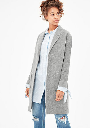 Oversized coat with wool from s.Oliver