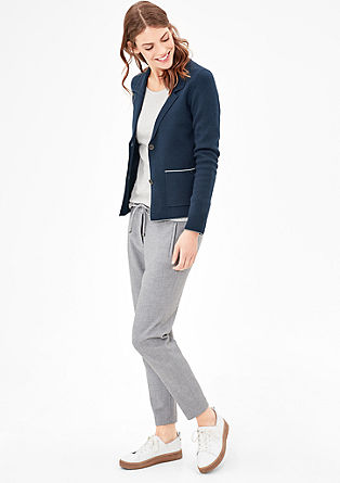 Cardigan in a blazer style from s.Oliver