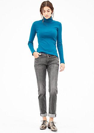 Shape Slim: Washed denim jeans from s.Oliver