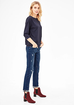 Shape Slim: Jeans mit Destroyes