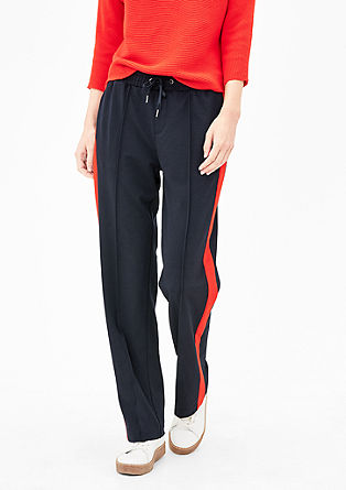 Smart straight: joggingbroek