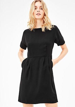 Elegante crêpe jurk