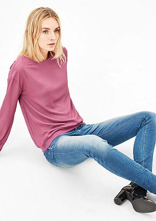 Leichte Glitzer-Bluse