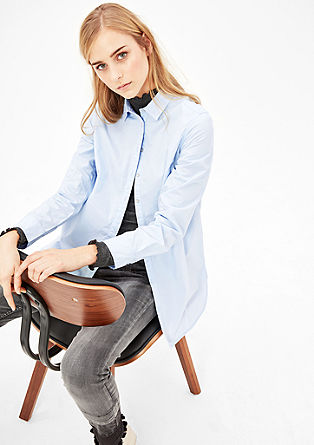 Simple cotton blouse from s.Oliver