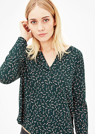 Vzorované tunikové tričko