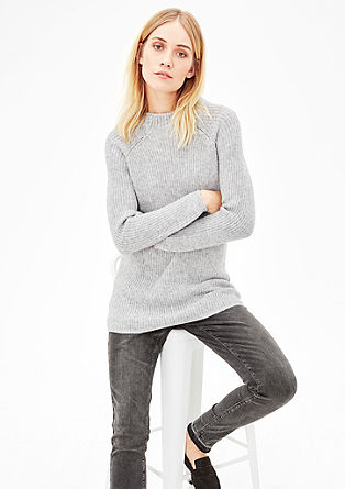 XXL chunky knit jumper from s.Oliver