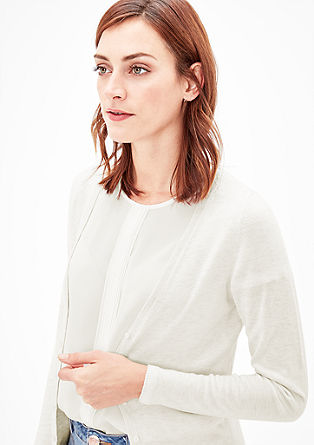 Fine knit cardigan from s.Oliver
