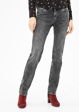 Smart Straight: dark jeans from s.Oliver