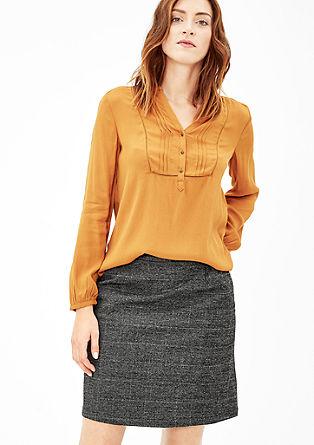 Short glencheck skirt from s.Oliver